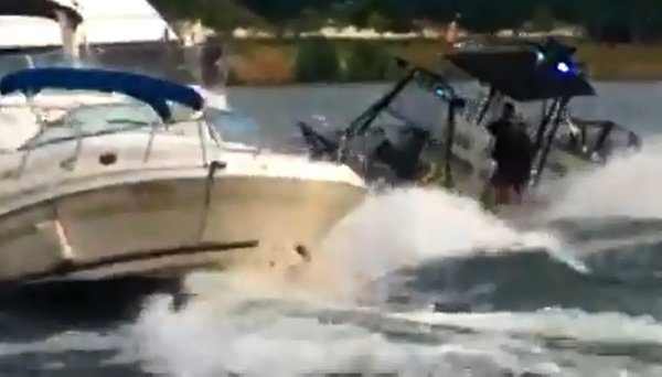 D.C. Police Boat Crashes into 2 Other Boats on Potomac River (Video)