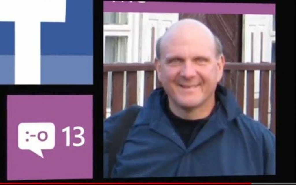 Steve Ballmer Shows Off His Windows Phone in New Ad