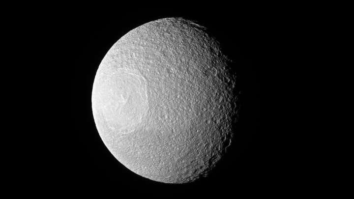 NASA Snaps Image Of Saturn's Other Death Star Moon