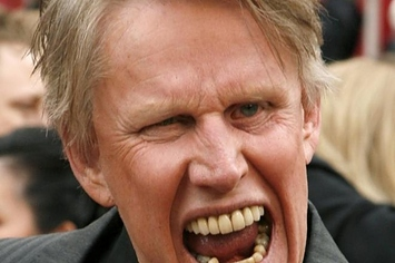 Gary Busey Sitting On A Hill Talking About Hobbits