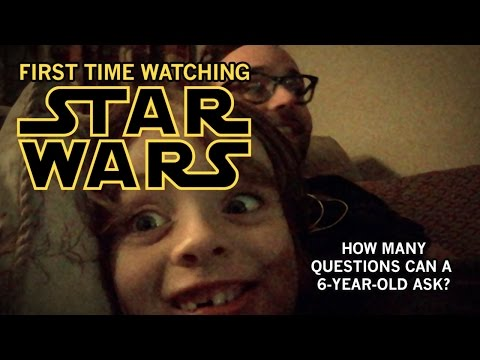 This Father Kept Track of How Many Questions His Son Had While Watching Star Wars For the First Time
