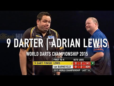 Just a Guy Casually Scoring a Perfect Game of Darts on Live TV