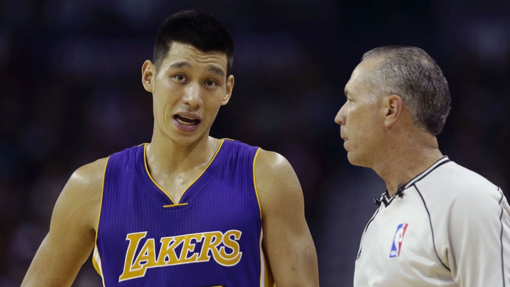The Lakers suck so much Jeremy Lin forgot how to speak