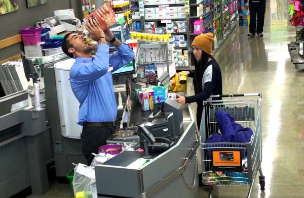 New Zealand Supermarket Prank (Video)