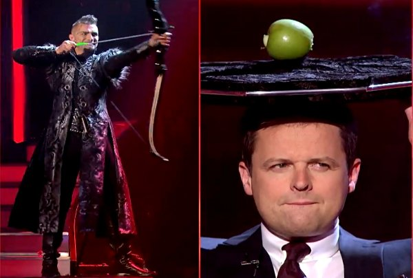 Aaron Crow Channels William Tell in Britain's Got Talent Semi-Final (Video)