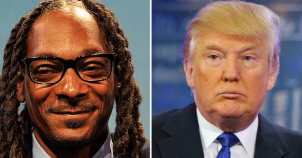 Donald Trump Tweeted About Snoop Dogg Because Clearly That's Super Important