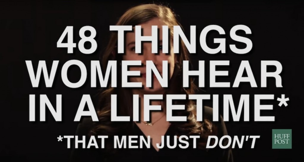 These 48 comments to women and girls show that sexism knows no age.