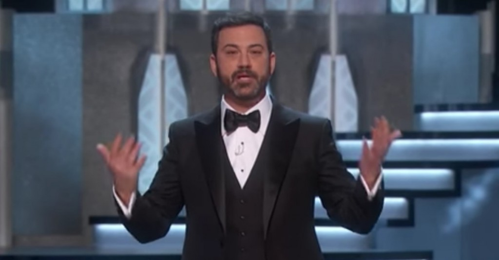 Jimmy Kimmel's Killer Oscar Monologue Took On Matt Damon and Donald Trump