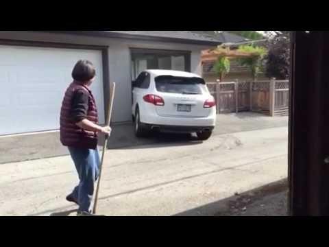 How Not to Park Your Porsche