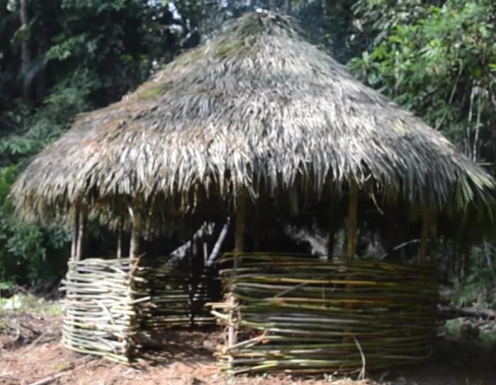 Primitive Technology: Round hut.
