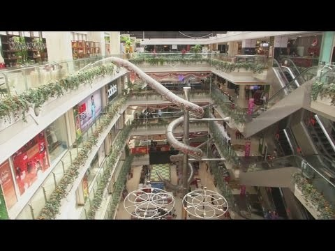 Move Over Boring Escalators, Every Mall Needs a Slide Like This One