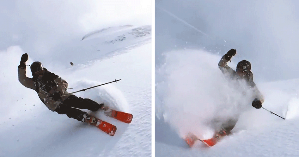 "Skier Swings An iPhone 6 Around His Head For A Matrix-like ""Bullet Time"" Effect"