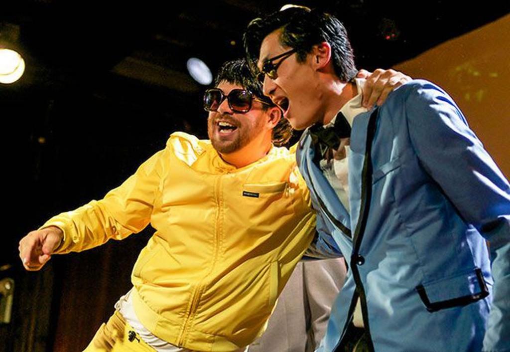 Psy Look-alikes Battle in 'Gangnam Style' Dance-Off