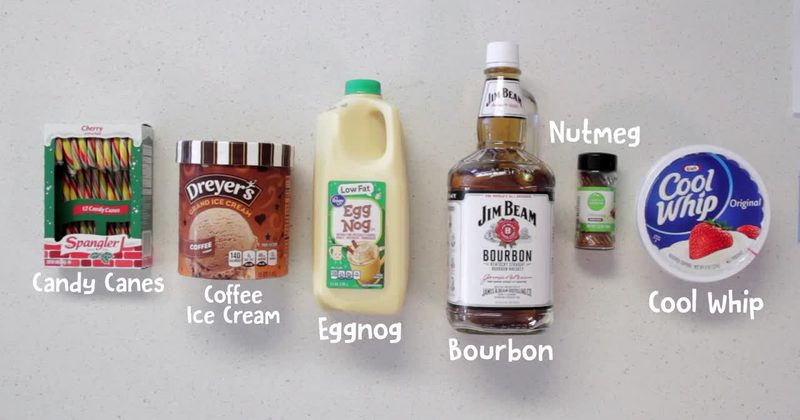 If You Like Eggnog, You're Going To LOVE This Boozy Milkshake Version